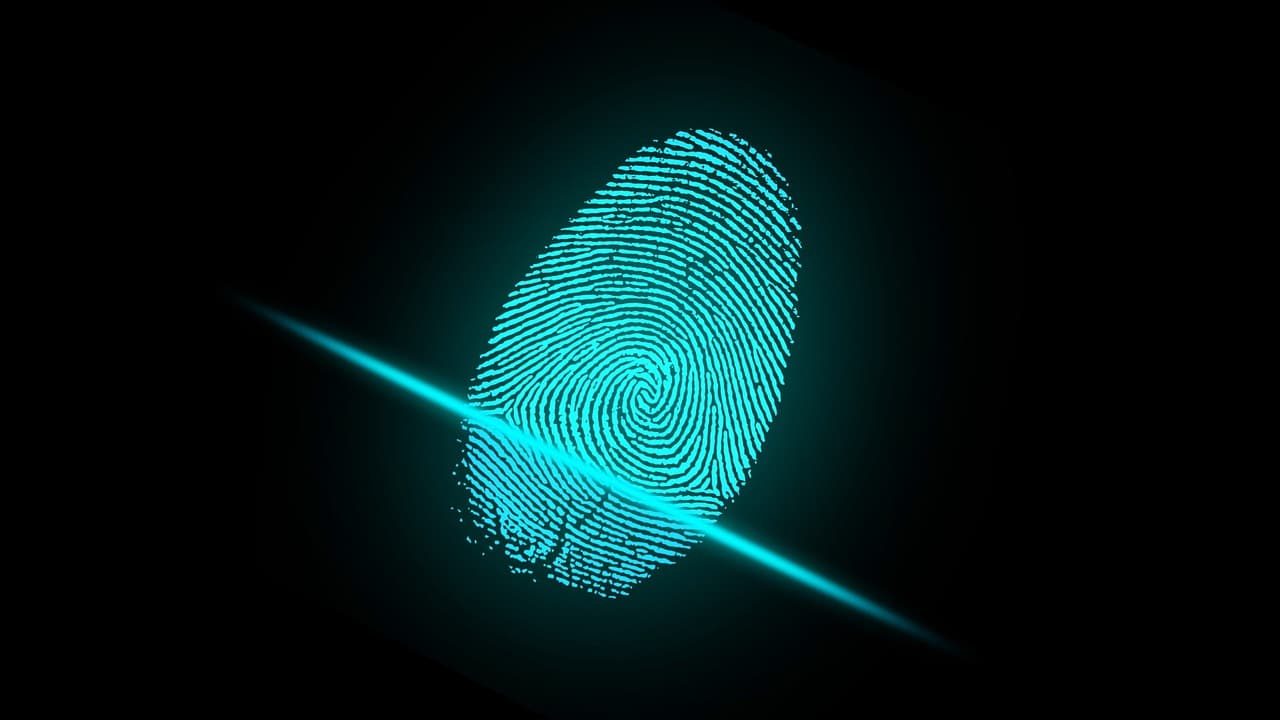 Impronta digitale biometria